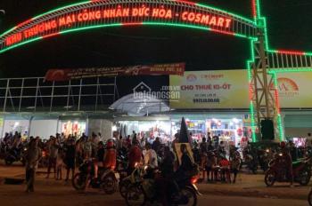 Bán - Cho thuê ki - ốt chợ đêm giá rẻ, Long An