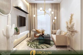 Dự án căn hộ tốt nhất hiện tại Citi Grand, giá chỉ 1,9 tỷ/căn 2PN, 2WC, thanh toán 36 tháng
