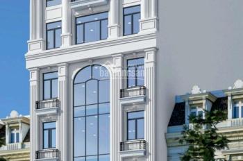 Tôi cần cho thuê tòa nhà VP 8 tầng mặt phố 71 Chùa Láng. DT: 140m2x 7 nổi, 1 hầm, MT: 8m, thang máy