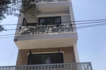 Bán nhà mới xây tại KDC Phú Lợi P7, Q8 nhà đẹp nội thất cửa gỗ đỏ và căm xe. LH 0902396633