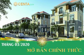 Mua nhà biệt thự 3 tầng tặng kèm đất duy nhất tại dự án Centa City Vsip Bắc Ninh, LH: 0945157222