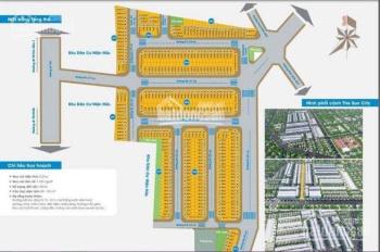 Chính chủ cần bán gấp lô 100m2 5x20 dự án The Sun City Thuận An Bình Dương. Giá 23tr/m2.