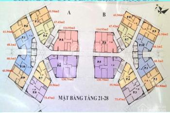 Chính chủ cần bán gấp căn CT2 Yên Nghĩa, căn 1201: 60,1m2, BC ĐN, giá 13tr/m2 - 0906237866