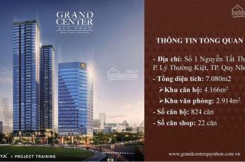 Grand Center Quy Nhon - căn hộ SMARTHOME 4 mặt tiền chuẩn 5*,TT đợt 1 chỉ 16%, CK 2 - 18%