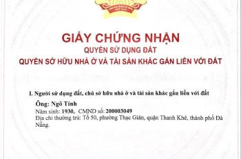 Cần bán đất mặt tiền Nguyễn Văn Linh, Hải Châu, Đà Nẵng
