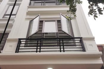Nhà mới xây mặt ngõ Hoàng Mai, ôtô đỗ cổng, 2 mặt thoáng, DT 35m*4.5T,giá 2,8 tỷ. LH 0988 468 796