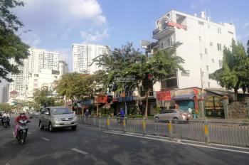 Cho thuê tòa nhà mặt tiền Bến Vân Đồn, P.5, Quận 4, DT:4.6x19m, hầm 5 lầu thang máy, giá 92tr/th