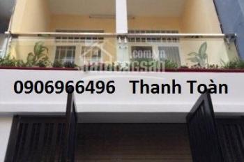 Cho thuê nhà HXH 5m đường Thái Phiên, P. 8, Q.11. DT: 4.5x14, trệt lầu, 3 phòng ngủ, giá 13tr/th