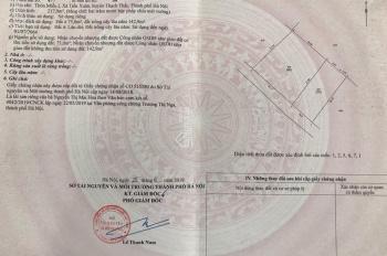 Bán đất thổ cư ở xóm Miễu, xã Tiến Xuân, huyện Thạch Thất, Hà Nội