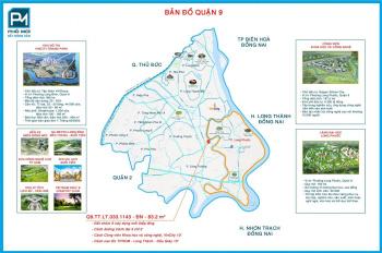 Đất nền mặt tiền Long Thuận duy nhất ở Quận 9 đã có sổ đỏ chỉ 38tr/m2