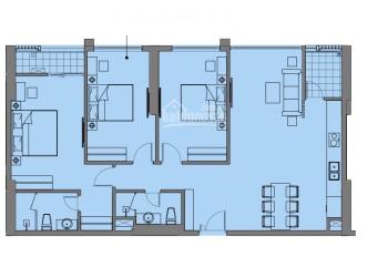 Bán căn hộ tứ quý 1 chung cư Xuân Thủy, 3 PN chất nhất dự án