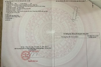 Chính chủ cần ra lô đất tại xã Tam Phước, Long Điền, 532m2