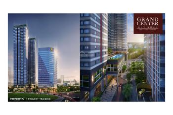 Căn hộ trung tâm Quy Nhơn Grand Center giá 1,7tỷ sở hữu vĩnh viễn tặng vàng SJC + vé DL 0968687800