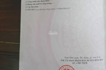 CC tôi cần bán đất dịch vụ khu Tân Việt, thị trấn Trạm Trôi, Hoài Đức TP Hà Nội, 67,7m2