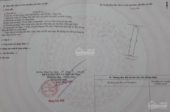 Bán 169m2 hẻm bê tông 5m đường số 12 Hoà Long, Bà Rịa 880 triệu.