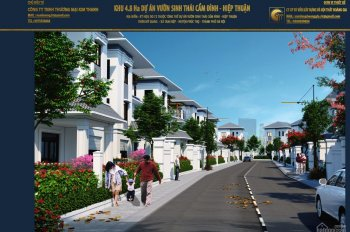 Bán lô đất mặt sông dự án Cẩm Đình, Hiệp Thuận giá tốt cho khách chốt nhanh