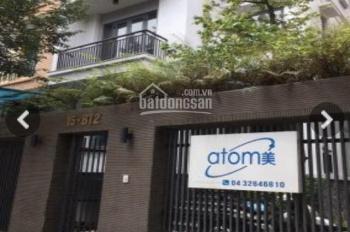Cho thuê biệt thự Khuất Duy Tiến, Thanh Xuân 150m2 x 5 tầng, mặt tiền 8m. Giá:50tr/th lh 0966071233