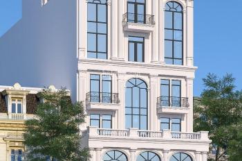 Cho thuê Building mặt phố Trung Hoà dt 430m2, 7 nổi, 1 hầm mt 18m giá thương lượng LH 0822288811