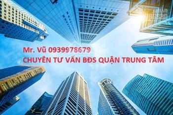 Nhà MT Yersin, Q.1, DT 12.4x23m, GPXD H, 8L, giá 130 tỷ, LH 0939978679