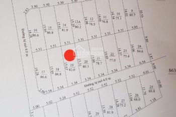 Bán lô đất cách đường Phú Nông, Vĩnh Ngọc, Nha Trang, giá: 1 tỷ 120 triệu. LH: 0934082421