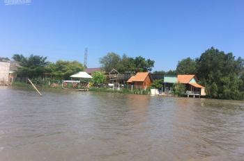 Hàng ngộp cần ra nhanh lô đất Nhơn Trạch, Đồng Nai, MT sông, sát phà Cát Lái, giá rẻ