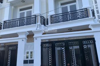 Nhà 1 trệt 2 lầu sân thượng, gara ô tô, đường Hồ Văn Tư, ngay chợ Thủ Đức, đường ô tô, 6.145 tỷ