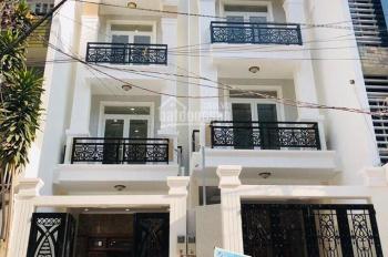 Bán nhà mới xây Chu Văn An Quận Bình Thạnh, sổ hồng riêng đã hoàn công đầy đủ mặt tiền đường NB 10m