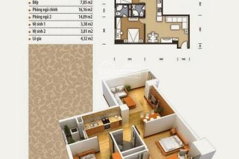 Bán căn góc 74m2, cửa Tây Bắc, đủ nội thất chung cư The Pride Hải Phát, giá 1,52 tỷ. Lh 0934515659