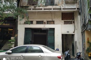 Bán nhà mặt phố số 24 Hàng Bột, Đống Đa, Hà Nội, 87m2, 3 tầng, mặt tiền 6m