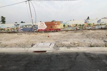 Đất nền sổ đỏ Bàu Bàng 100m2 liền kề chợ, khu công nghiệp 3200 hecta sầm uất