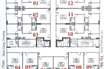 Tôi cần bán gấp chung cư C14 Bùi Xương Trạch, CH 1009: 67,39m2, giá bán 21tr/m2. LH 0933606793