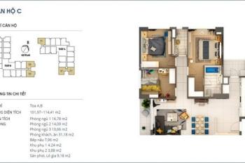 Bán căn hộ chung cư cao cấp 3PN, full nội thất tại Rivera Park, 69 Vũ Trọng Phụng
