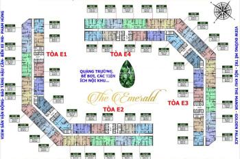 Hót chính chủ cần bán gấp căn hộ 3PN nội thất chủ đầu tư chung cư Emerald Mỹ Đình LH: 0332462416