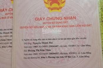 Bán đất chính chủ ngay trung tâm thành phố Bảo Lộc