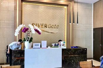 Cần cho thuê offictel RiverGate 42m2, nhà trống gồm máy lạnh + rèm giá 14 triệu/tháng