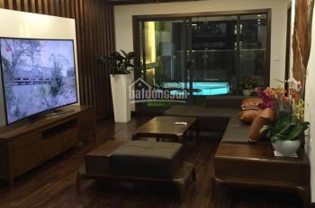 Cho thuê chung cư Vinhomes 56 Nguyễn Chí Thanh, 4 ngủ, full đồ cao cấp, 167m2. LH: 0913442536