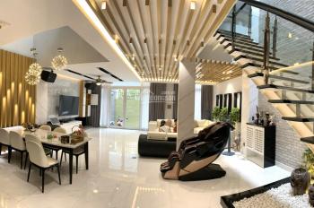 Cần bán biệt thự Nam Long Trần Trọng Cung, 8x24,7m, xây 2 lầu, 1 áp mái, 5 phòng ngủ. 0908743068