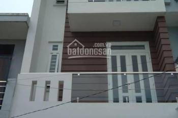 Nhà bán mới 100%, cuối đường Lê Trọng Tấn, xây kiên cố 2 lầu, 4x10m, sổ hồng, ngay chợ, 1,8 tỷ