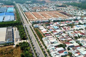 Bán gấp lô đất ngay cổng KCN Mỹ Phước 3 rẻ hơn thị trường 80 triệu, sổ hồng riêng chỉ 8,7 tr/m2