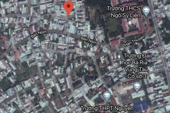Bán miếng đất vuông vức, hẻm 6m, Bến Nôm, P. Rạch Dừa, thành phố Vũng Tàu