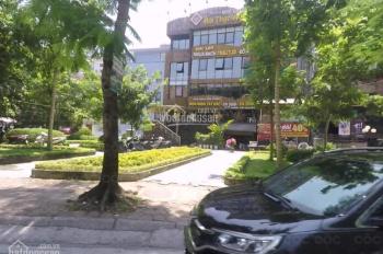 Cho thuê nhà MP Trần Kim Xuyến, dt đất 180m2, xd 140m2 X 4 tầng + 1 hầm, lô góc 2 mặt tiền. Giá 150