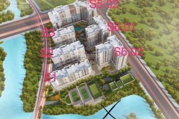 Cần bán căn SHop chân đế chung cư lô góc 2 mặt tiền toà S1 căn s12 tại chung cư symphony nằm cạnh k