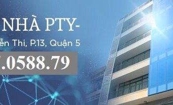 Văn phòng Tòa nhà PTY Nguyễn Thi Quận 5, DT 60-70-100-250-500m2 Giá Rẻ Sàn mới