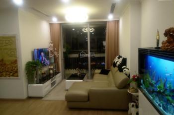 Cho thuê gấp căn hộ Green park 3 phòng ngủ, nội thất đầy đủ đồ, 110m2 giá 14tr/th