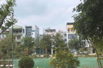 Cần bán đất TĐC Giang Biên hướng Tây Bắc, diện tích 40m2, mặt tiền 3,48m, đối diện với công viên