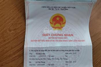 Bán đất số 31 ngõ 50 Triệu Quang Phục
