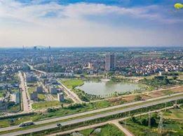 Chung cư duy nhất tại Bắc Giang nằm trong khu đô thị 23ha, được hưởng trọn vẹn không gian xanh