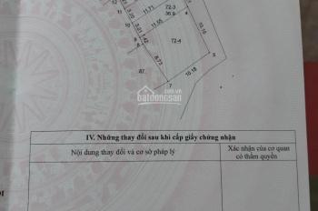 Cần bán đất thổ cư Hà Trì  Hà Đông, diện tích 37m2, giá bán 1.35 tỷ. Lh 0984672007