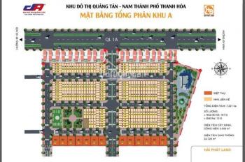 Đất nền khu đô thị Quảng Tân - Nam thành phố Thanh Hóa
