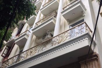 Cho thuê nhà Mễ Trì Hạ, Nam Từ Liêm, Hà Nội. DT 110m2, 7 tầng, MT 6m, thang máy giá 45tr/th